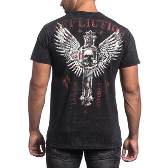 tričko pánské AFFLICTION - Repost - BK - A13430