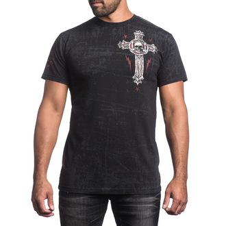 tričko pánské AFFLICTION - Repost - BK, AFFLICTION