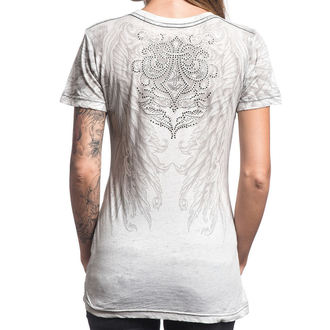 tričko dámské AFFLICTION - Filson - WHBO - AW13123