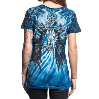 tričko dámské AFFLICTION - Cypress - HOSR, AFFLICTION