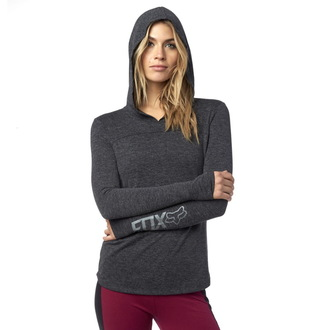 tričko dámské s dlouhým rukávem FOX - Instant - Black