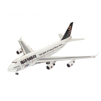 model Iron Maiden - Model Kit 1/144 Boeing 747-400