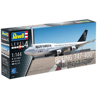 model Iron Maiden - Model Kit 1/144 Boeing 747-400, NNM, Iron Maiden