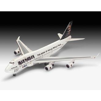 model Iron Maiden - Model Kit 1/144 Boeing 747-400, NNM, Iron Maiden