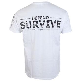 tričko pánské ALISTAR - Zombie Survive - white, ALISTAR