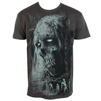 tričko pánské ALISTAR - Zombie Survive - grey - ALI315