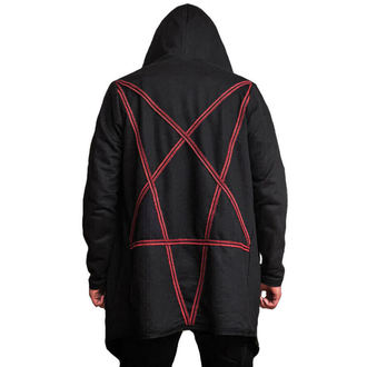 mikina (unisex) AMENOMEN - Pentagram - Red - Desire-013