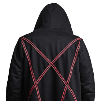 mikina (unisex) AMENOMEN - Pentagram - Red