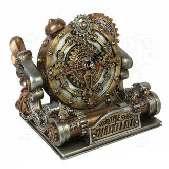hodiny (dekorace) ALCHEMY GOTHIC - Time Chronambulator - V26