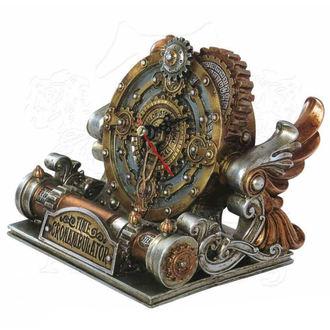 hodiny (dekorace) ALCHEMY GOTHIC - Time Chronambulator, ALCHEMY GOTHIC