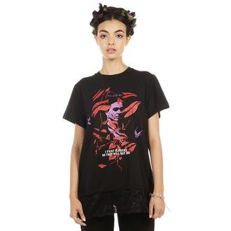 tričko dámské DISTURBIA - Frida Flowers - Lace, DISTURBIA