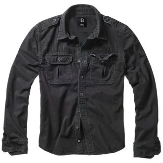 košile pánská BRANDIT - Vintage - 9373-schwarz