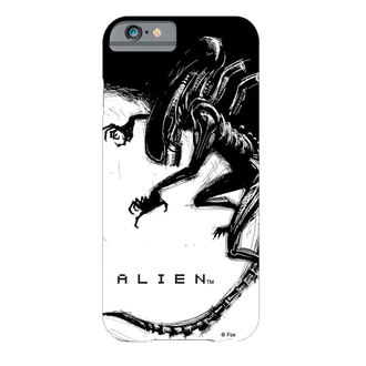 kryt na mobil Alien (Vetřelec) - iPhone 6 - Xenomorph Black & White Comic, Alien - Vetřelec