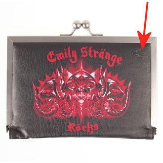 peněženka EMILY THE STRANGE - Emily (E4081502) Kitty Head - POŠKOZENÁ, EMILY THE STRANGE