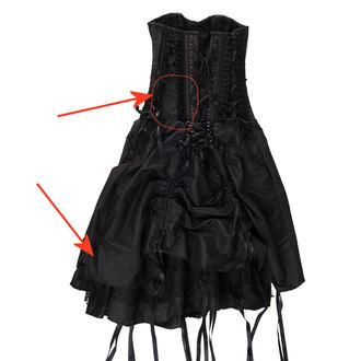 šaty dámské BURLESKA - Black - POŠKOZENÉ