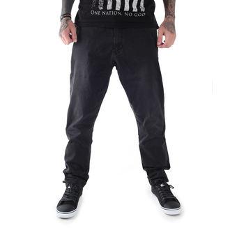 kalhoty pánské GLOBE - Select Loose Taper - Vintage Black - GB01636003-VBL