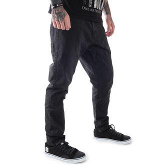 kalhoty pánské GLOBE - Select Loose Taper - Vintage Black, GLOBE
