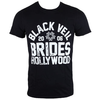 tričko pánské Black Veil Brides - Hollywood - Black - LIVE NATION - PE13881TSBP