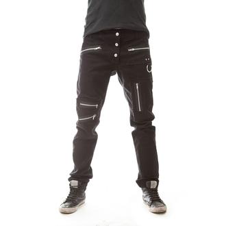 kalhoty pánské POIZEN INDUSTRIES - SLEEPWALKER - BLACK - POI125