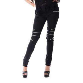 kalhoty dámské VIXXSIN - REMISSION - BLACK