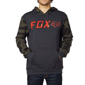 mikina pánská FOX - Diskors Fleece - Heather Black, FOX