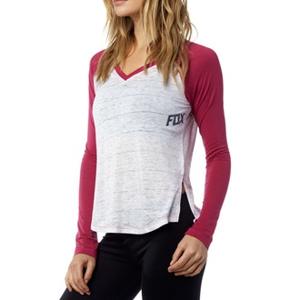 tričko dámské s dlouhým rukávem FOX - Whirlwind Raglan - Stone, FOX