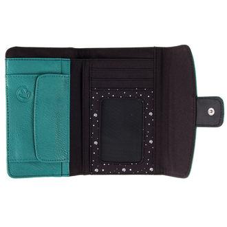 peněženka MEATFLY - Madeline - E - Green,Black, MEATFLY