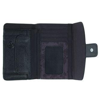 peněženka MEATFLY - Madeline - D - Black,Decade Print, MEATFLY