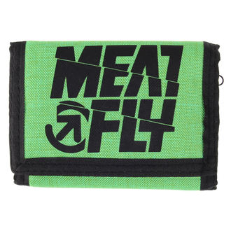 peněženka MEATFLY - Nightcall - C - Green,Black, MEATFLY
