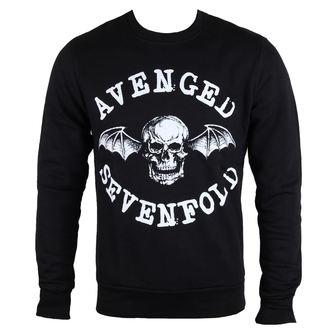 mikina pánská Avenged Sevenfold - Classic Deathbat - ROCK OFF, ROCK OFF, Avenged Sevenfold