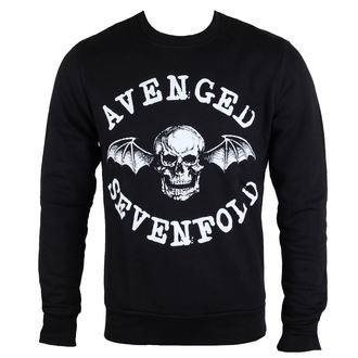 mikina pánská Avenged Sevenfold - Classic Deathbat - ROCK OFF - ASSWT14MB