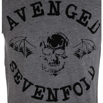 tričko pánské Avenged Sevenfold - Classic Deathbat Acid Wash - ROCK OFF, ROCK OFF, Avenged Sevenfold