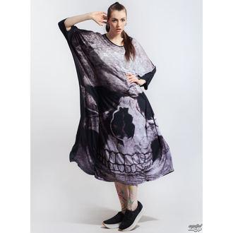 šaty dámské KILLSTAR - Skull Boho - POŠKOZENÉ - N596