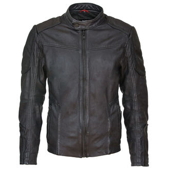 bunda pánská Suicide Squad Leather Jacket Deadshot Black