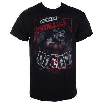 tričko pánské Metallica - Hell On Earth - Red Black - RTMTLTSBHEL