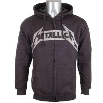 mikina pánská Metallica - No Life Till Leather - Charcoal, Metallica