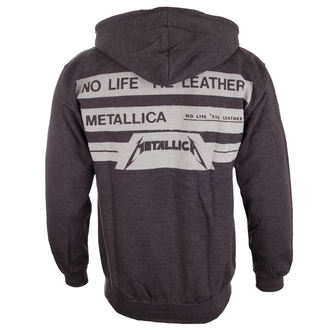 mikina pánská Metallica - No Life Till Leather - Charcoal