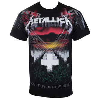 tričko pánské Metallica - Puppets - Black - RTMTLTSBPUP