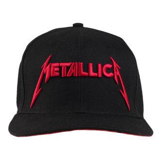 kšiltovka Metallica - Red Damage - Black - RTMTLSBCBINK