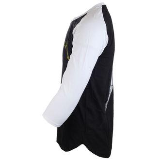 tričko pánské s 3/4 rukávem Metallica - Justice Black/White Baseball
