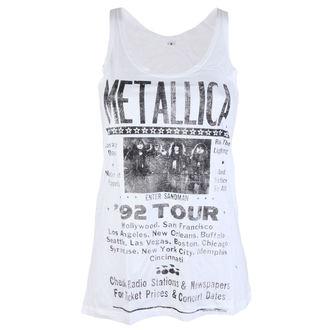 tílko dámské Metallica - 92 Poster White - RTMTL094