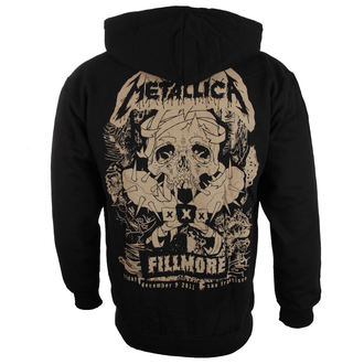 mikina pánská Metallica - Fillmore - Black, NNM, Metallica