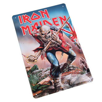 cedule Iron Maiden - The Trooper, NNM, Iron Maiden