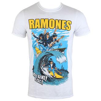 tričko pánské Ramones - Rockaway Beach - ROCK OFF, ROCK OFF, Ramones
