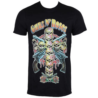 tričko pánské Guns N' Roses - Skull Cross 80's - ROCK OFF, ROCK OFF, Guns N' Roses