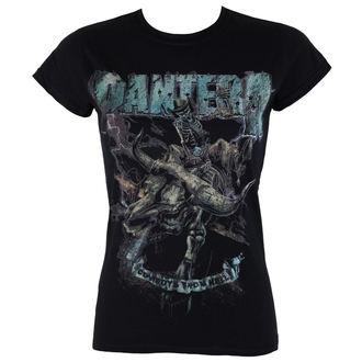 tričko dámské Pantera - Vintage Rider - ROCK OFF, ROCK OFF, Pantera