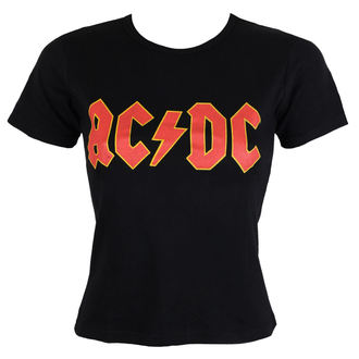 tričko dámské AC/DC - Classic Logo - ROCK OFF - ACDCTRTS01LB