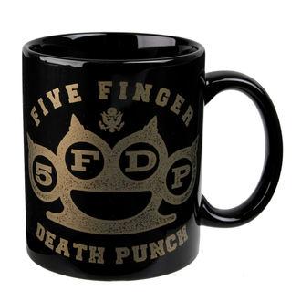 hrnek Five Finger Death Punch - Brass - ROCK OFF, ROCK OFF, Five Finger Death Punch