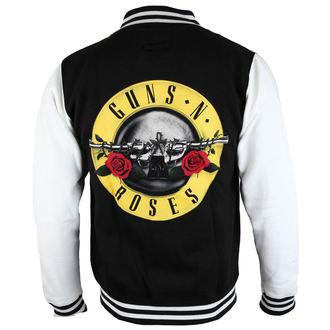 mikina pánská Guns N' Roses - Circle Logo - ROCK OFF, ROCK OFF, Guns N' Roses