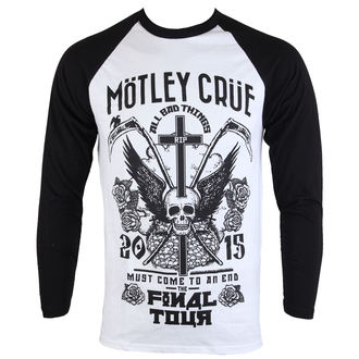 tričko pánské s dlouhým rukávem Mötley Crüe - Final Tour Tattoo - ROCK OFF, ROCK OFF, Mötley Crüe
